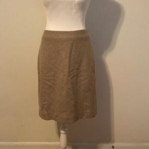 J Crew wool pencil skirt